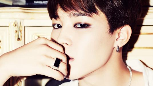 Jimin eyeliner
