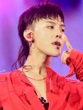 G-Dragon Mullet